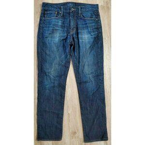 Lucky Brand Mens 121 Heritage Slim Blue Jeans 33